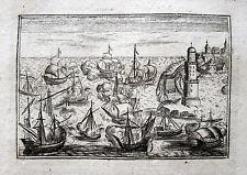 SEESCHLACHT LA BATTAGLIA NAVALE DI PALERMO SICILIA 1676 NAVAL BATTLE BATAILLE