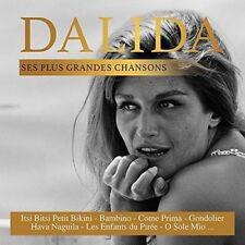 CD de musique pour chanson française Dalida sur coffret