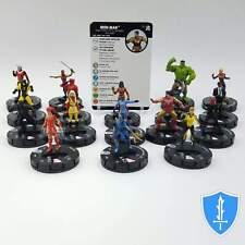 Complete Set 17 Common - Marvel Black Panther Illuminati HeroClix Miniature Lot
