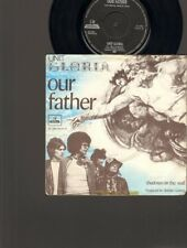 "UNIT GLORIA Our Father SINGLE 7"" Shadows on the Wall 1970 ROBERT LONG Nederpop"