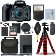 Canon PowerShot SX70 HS 20.3MP Digital Camera + 32GB Deluxe Accessory Package