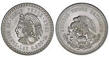 5 SILVER PESOS-5 PESOS PLATA. MÉXICO 1948. CUAUHTÉMOC. AU/SC-. BARGAIN / OFERTA.
