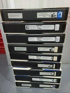 Lot of 9- GerberColor Thermal Foil 4 Gerber Edge Edge 2 Beige, Grey, Blue