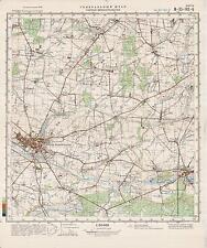 Russian Soviet Military Topographic Maps- SRODA WIELKOPOLSKA  (Poland),  ed.1981