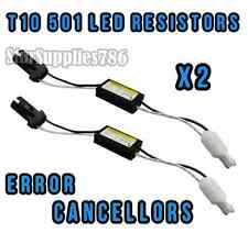 2x T10 501 W5W RESISTENZE NO CANBUS Errore LED Luce Laterale RESISTENZE