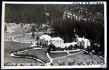 ITALY ~ 1930 CORTINA D'AMPEZZO ~ HOTEL MIRAMONTI ~RPPC