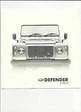 LAND ROVER DEFENDER X-TECH SPECIAL EDITION + PROTECTION PACK SALES BROCHURE 2003
