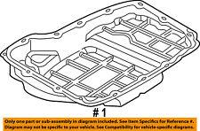 CHRYSLER OEM-Transmission Tranny Oil Pan 68065923AA