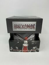Battlestar Galactica - The Complete Series (Dvd, 2009, 25-Disc Set) with Figure