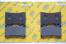 FRONT BRAKE PADS fits YAMAHA FZR 400 R, 88-89 FZR400R