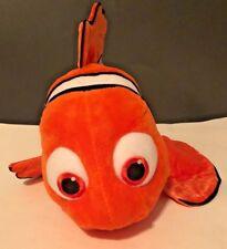 """Disney Store Finding Nemo Plush Orange Clownfish 17"""" Long Pixar"""