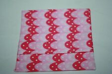 Sugar & Spice ~ GELATI OWL FEATHER ~ panty liner case/holder NEW pink