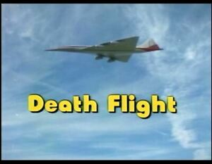 Death Flight - 1977 US tvm Barbara Anderson, Peter Graves (dvd plays worldwide)