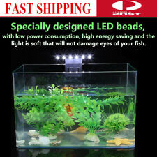 Slim LED Aquarium Light Flexible Arm Clip on Plant Grow Fish Tank Lighting Lamp