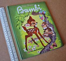 1950s Walt Disney's Bambi Great Golden Story Book (Hardback) UK Edition