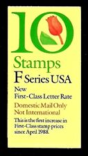 "1991 - ""F"" SERIES - # BK182 Complete Booklet"