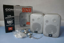 JBL Control One silber, 1 Set Kompaktlautsprecher inkl. Wandhalterung, OVP