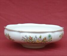 """AYNSLEY Bone China """"WILD TUDOR"""" LARGE FOOTED BOWL ~ EXCELLENT"""