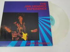 Jimi Hendrix EXPERIENCE 2LP Live At Winterland RYKO 1987 White Vinyl