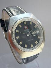 1972 Omega f300 Hz GENEVE cronometri, Cal 1260 MODEL 198.0020. Dkl. Marrone ZB