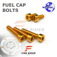 FRW Gold Fuel Cap Bolts Set For Yamaha YZF R3 15-16 15 16