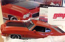 Street Fighter 1972 GTO Restomed GMP Pontiac Ducktail Hardtop Orange COA Box