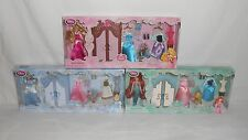 Lot of 3 New Disney Princess Wardrobe Mini Doll Sets
