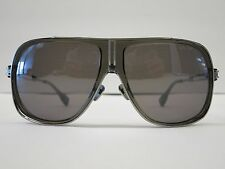 DITA EXETER Smoke Grey Antique SIlver Grey Optique Glasses Eyewear Sunglasses