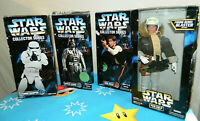 Lot of 4 in box Star Wars Action Figures Kenner 1996-97