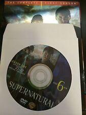 Supernatural - Season 1, Disc 6 REPLACEMENT DISC (not full season)