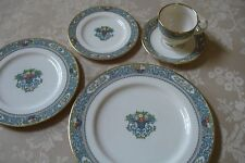 Lenox China Autumn 5 pc Place Setting Gold Back Stamp Mint Never Used
