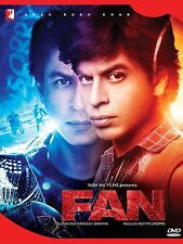 FAN 2 DISC DVD HINDI MOVIE WITH ENGLISH SUBTITLES [2016]