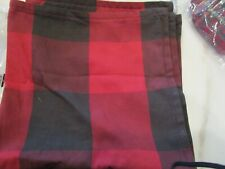 Pottery Barn Buffalo Check red  pillow cover 24 red New