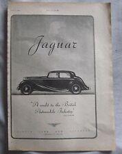 1945 Jaguar Original advert No.3
