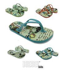 Diesel Areia Kids Flip Flops Boys Girls Infants Childrens Sandals NEW RRP £30