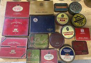 Tobacco Tin Collection