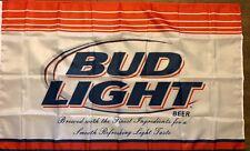 Bud Light Beer Flag 3x5 Budweiser Banner Man Cave Spelled Correctly Bar