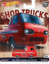 Hot Wheels Car Culture Shop Trucks '60 Ford Econoline Pickup Truck 1/64 Diecast
