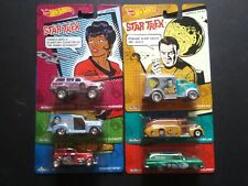 Hot Wheels Pop Culture 2013 STAR TREK Six-Car Set - Jeep, Chevy, Ford, Dodge