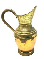 PEERAGE Vintage Copper Brass Milk Ale Wine Water Jug Beer Pouring Spout Pitcher
