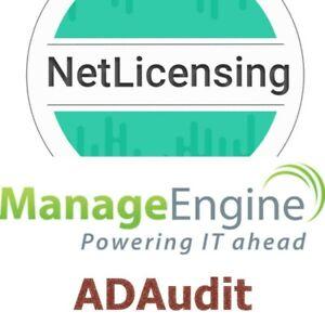 ManageEngine ADAudit Plus License, Permanent/Unlimited/Professional Edition