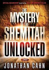 THE MYSTERY OF THE SHEMITAH UNLOCKED - DVD by Jonathan Cahn  **BRAND NEW**