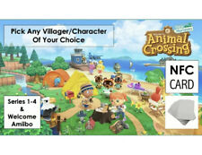 Animal Crossing Amibo Cards, Pick Your 1 Villager Per Card
