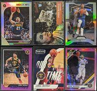 Lot of (6) Jamal Murray, Including NBA Hoops /199, Aficionado RC & Prizm silver