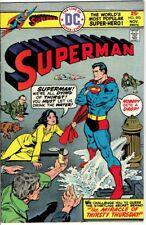 Superman #293 (Nov.1975 DC) VERY FINE 8.0
