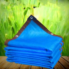 Customize 85% UV Blue Shade Cloth Taped Edge with Grommets