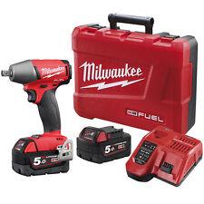 Milwaukee NEXT GEN M18 FUEL IMPACT WRENCH KIT M18FIWP12-502C 5.0Ah 1/2 Inch Pin