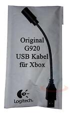 Logitech G920 Driving Force Cable USB para Xbox - Juegos Volante Accesorio