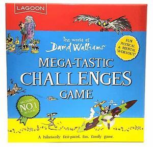 David Walliams Mega-Tastic Challenges Game - Fun Family Game Lagoon Games