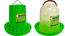 Poultry Chicken Feeder & Waterer Combo Medium